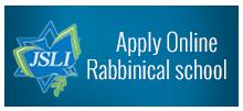 Apply Online Rabbinical School