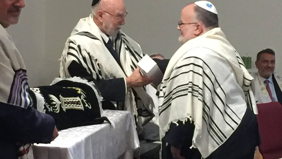 Rabbi Reuven is guest rabbi at Temple Beth-El